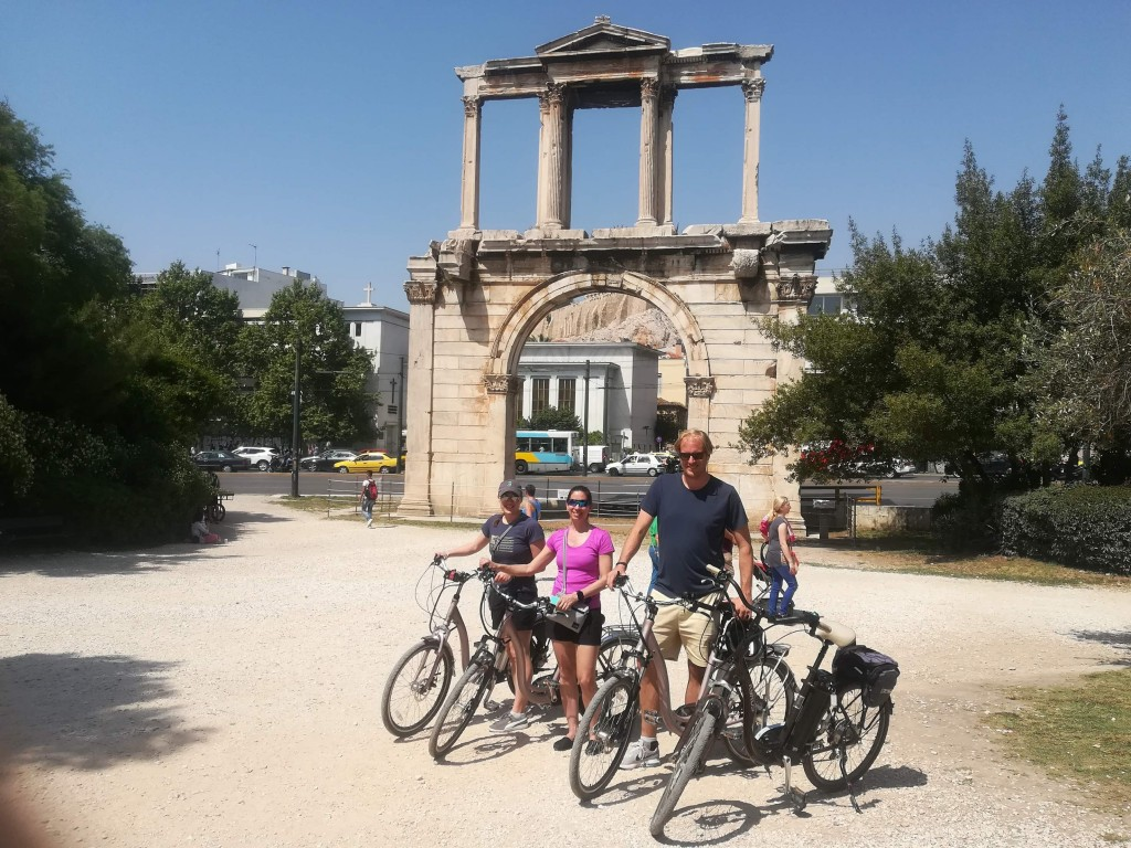 Neu in Athen: Sightseeing by E-Bike